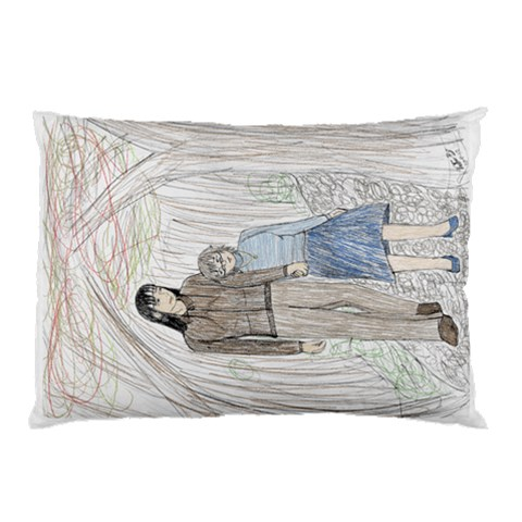 Stroll Case By Vickie Boutwell   Pillow Case   Zh6jj2kn5f6e   Www Artscow Com 26.62 x18.9 Pillow Case
