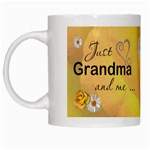 Grandma and Me Mug - White Mug