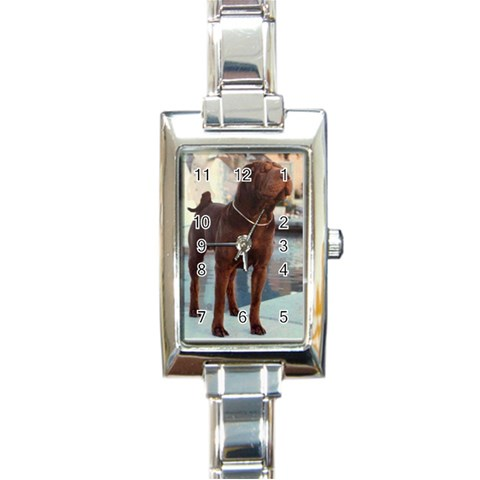 Watch By Joanne Cameron   Rectangle Italian Charm Watch   Mmv4oc9s6isg   Www Artscow Com Front