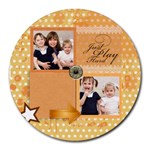 kids - Collage Round Mousepad