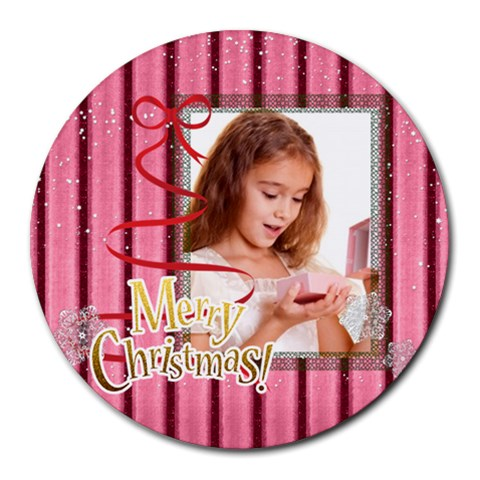 Kids By Joely   Round Mousepad   Zlwq3gkgmlpn   Www Artscow Com Front
