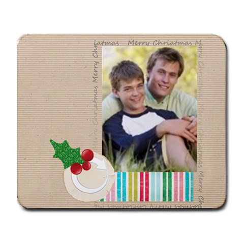 Xmas By Joely   Collage Mousepad   3d7sh257yxd3   Www Artscow Com 9.25 x7.75  Mousepad - 1
