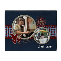 Eric By Jennifer Wang   Cosmetic Bag (xl)   Mc6xg2a1cqo9   Www Artscow Com Back