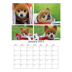 Jimmy2013 By 402   Desktop Calendar 6  X 8 5    Qmcbjmwuyb03   Www Artscow Com Jan 2013