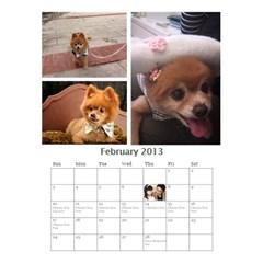 Jimmy2013 By 402   Desktop Calendar 6  X 8 5    Qmcbjmwuyb03   Www Artscow Com Feb 2013