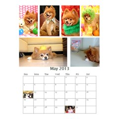 Jimmy2013 By 402   Desktop Calendar 6  X 8 5    Qmcbjmwuyb03   Www Artscow Com May 2013