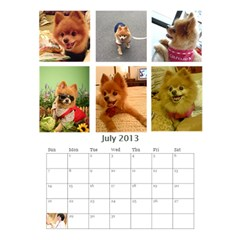 Jimmy2013 By 402   Desktop Calendar 6  X 8 5    Qmcbjmwuyb03   Www Artscow Com Jul 2013
