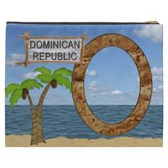 Dominican Xxxl Cosmetic Bag By Lil    Cosmetic Bag (xxxl)   Iah7yahjbubr   Www Artscow Com Back
