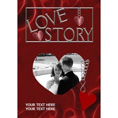 Love Story 7x5 3d Card By Lil    Heart Bottom 3d Greeting Card (7x5)   Lthq70zrwlmx   Www Artscow Com Inside
