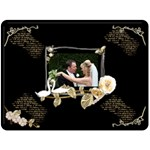 Twin Swans Romantic  Fleece Blanket - Fleece Blanket (Extra Large)