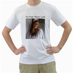 Never say Never - White T-Shirt