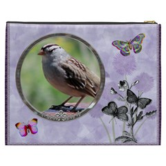 Butterfly Xxxl Cosmetic Bag By Lil    Cosmetic Bag (xxxl)   Z0e6xfq2p41b   Www Artscow Com Back