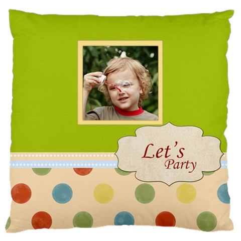 Kids By Jacob   Large Cushion Case (one Side)   Wn0eymlkghzb   Www Artscow Com Front