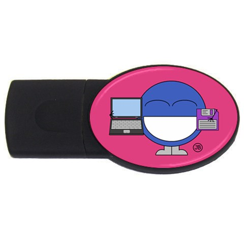Usb Drive By Giggles Corp   Usb Flash Drive Oval (4 Gb)   47wxek0n0q4c   Www Artscow Com Front