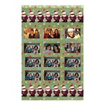 santa shower curtain2 - Shower Curtain 48  x 72  (Small)