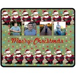 christmas blanket - Fleece Blanket (Medium)