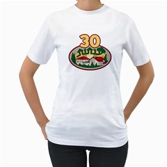 By Talya Shachar Albocher   Women s T Shirt (white) (two Sided)   94i997mhu78e   Www Artscow Com Front