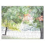 Jigsaw Puzzle - Fall Trees - Jigsaw Puzzle (Rectangular)