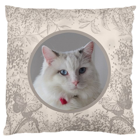 Coffee And Cream Large Cushion Case By Deborah   Large Cushion Case (one Side)   X1ya1zw32hzh   Www Artscow Com Front