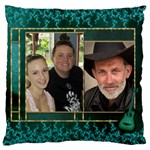 My Family Large Cushion Case - Large Cushion Case (One Side)