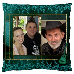 My Family Large Cushion Case (2 Sided) By Deborah   Large Cushion Case (two Sides)   58vblmgj0nyh   Www Artscow Com Front