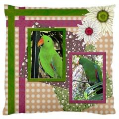 Polly Large Cushion Case (2 Sided) By Deborah   Large Cushion Case (two Sides)   K9yq318y68e0   Www Artscow Com Front