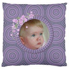 Little One Large Cushion Case (2 Sided) By Deborah   Large Cushion Case (two Sides)   88obv96303nw   Www Artscow Com Back