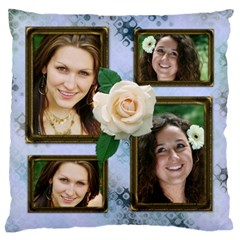 Little Fancy Large Cushion Case (2 Sided) By Deborah   Large Cushion Case (two Sides)   Tvl0if5dqmaw   Www Artscow Com Front