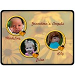 grandma s angels - Fleece Blanket (Large)
