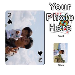 By 李麗卿   Playing Cards 54 Designs   4nwju997n8g9   Www Artscow Com Front - Spade2