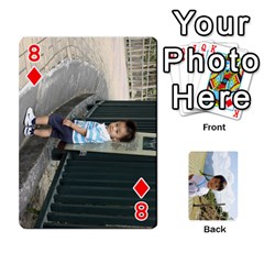 By 李麗卿   Playing Cards 54 Designs   4nwju997n8g9   Www Artscow Com Front - Diamond8