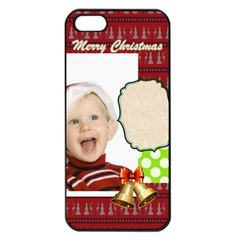 Xmas By Man   Apple Iphone 5 Seamless Case (black)   Sf04i2xeh7xj   Www Artscow Com Front