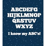 Personalized ABC Kids Mini Book 5x5 - 5x5 Deluxe Photo Book (20 pages)