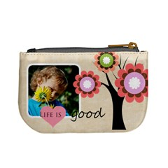 Life Is Good By Jacob   Mini Coin Purse   4ratfj8gaigg   Www Artscow Com Back