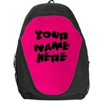 Hot Pink Personalized Name Backpack Rucksack - Backpack Bag