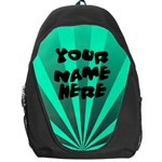Bright Aqua Personalized Name Backpack Rucksack - Backpack Bag