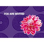 invitations - Circle 3D Greeting Card (7x5)
