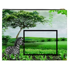 Going To The Zoo  Xxxl Cosmetic Bag By Catvinnat   Cosmetic Bag (xxxl)   0bt5a93hrsga   Www Artscow Com Back