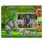 Elephants  XXXL Cosmetic bag - Cosmetic Bag (XXXL)