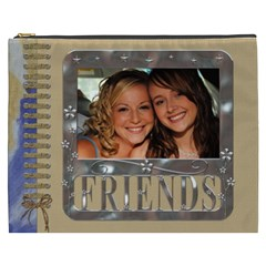 Friends Xxxl Cosmetic Bag By Lil    Cosmetic Bag (xxxl)   U252fiftaulm   Www Artscow Com Front
