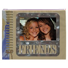 Friends Xxxl Cosmetic Bag By Lil Front