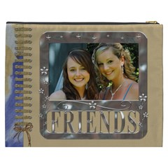 Friends Xxxl Cosmetic Bag By Lil    Cosmetic Bag (xxxl)   U252fiftaulm   Www Artscow Com Back