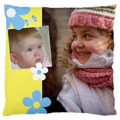 My Sunny Days Large Cushion Case (2 Sided) By Deborah   Large Cushion Case (two Sides)   Htgo5t6ccxsm   Www Artscow Com Front
