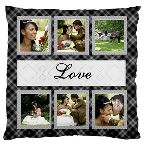 Love Large Cushion Case By Deborah   Large Cushion Case (one Side)   M7wbw2odtzgm   Www Artscow Com Front
