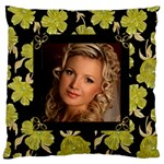 Our Poppy Large Cushion Case - Large Cushion Case (One Side)