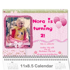 Ashlyn By Rainey   Wall Calendar 11  X 8 5  (12 Months)   Cowckh9lping   Www Artscow Com Cover