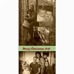 Christmas2012 By Hilary Troester   4  X 8  Photo Cards   T34i1zx23hjn   Www Artscow Com 8 x4 Photo Card - 3