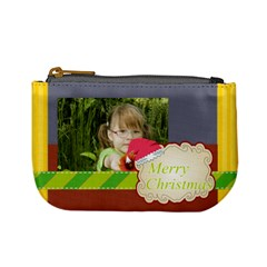 Xmas By Mac Book   Mini Coin Purse   Odnsixrhrdfx   Www Artscow Com Front