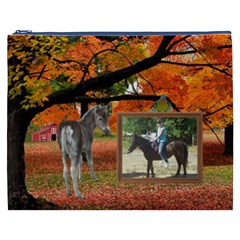Fall Farm Cosmetic Bag (xxxl) 2 Sides By Kim Blair   Cosmetic Bag (xxxl)   Hkupwkz1pyvo   Www Artscow Com Front