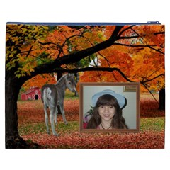 Fall Farm Cosmetic Bag (xxxl) 2 Sides By Kim Blair   Cosmetic Bag (xxxl)   Hkupwkz1pyvo   Www Artscow Com Back
